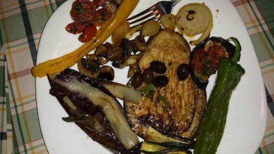 Osteria della Suburra: Antipasto di verdure grigliate