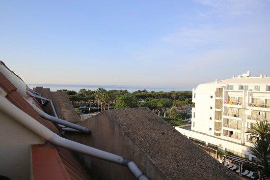Hotel Florida Park : вид из номера на крыше