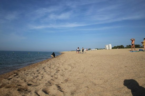 Hotel Florida Park : пляж напрво