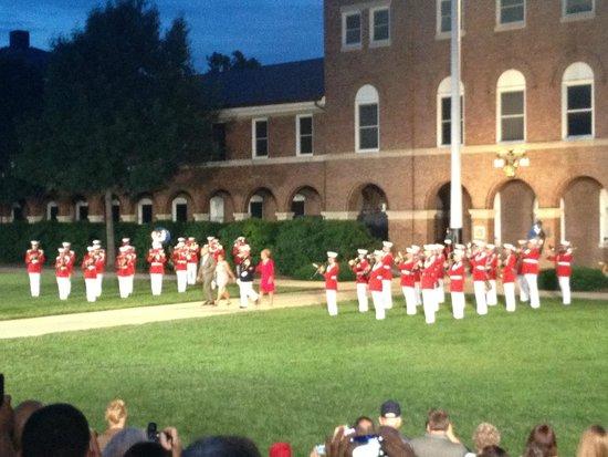 U.S. Marines Sunset Parade: Marine Band 06-14