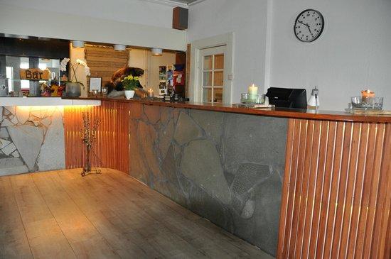 Saltfjellet Hotell Polarsirkelen: Reception