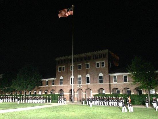 U.S. Marines Sunset Parade: 6-14