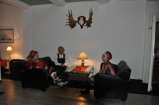 Saltfjellet Hotell Polarsirkelen: Lobby