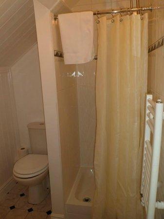Ty Morgan's Bar-Bistro-Rooms: Claerwen Bathroom