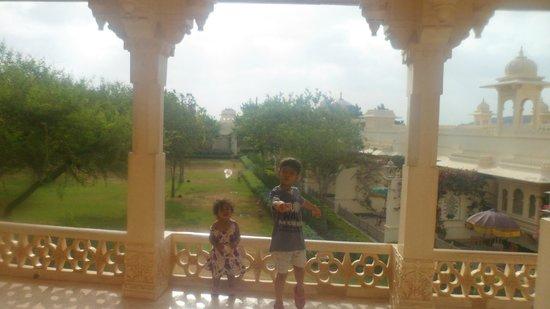 Trident Udaipur: balocy view