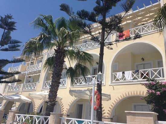 Hotel Golden Star : View of balcony rooms