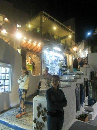 Hotel Golden Star : Near Franco's/Tropical bar, Restaurants for Fira Sunset