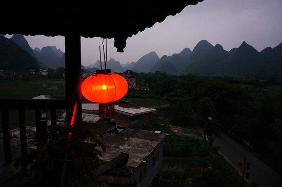 Yangshuo Tea Cozy: Roof top terrace