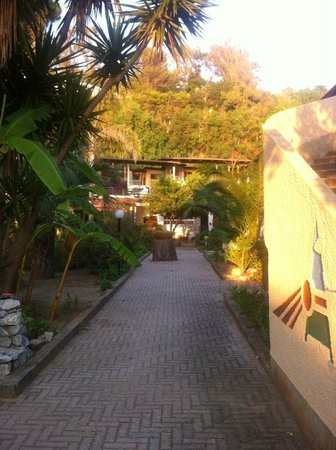 Villaggio Club Agrumeto: Территория отеля