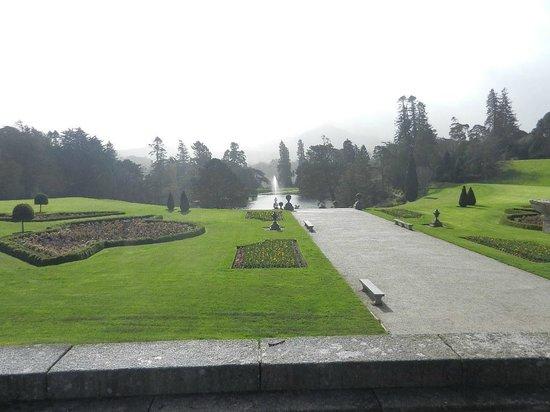 Powerscourt Gardens and House: Powerscourt