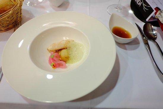 La Senda: El 1º del menú....calamar...