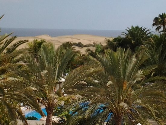 Hotel Riu Palace Maspalomas: view from room balcony