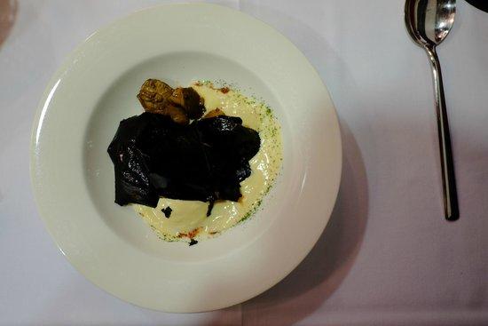 La Senda: El 2º del menú...el huevoooooooooo, delicioso