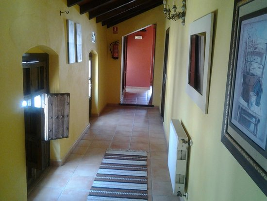 Hotel el Gecko : First floor with bedrooms leading off to the right