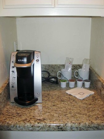 Rancho Bernardo Inn: In-room coffee