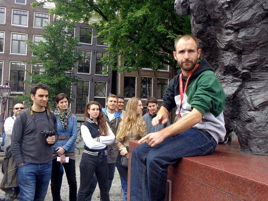 SANDEMANs NEW Europe - Amsterdam: Albert, el mejor guía de Amsterdam