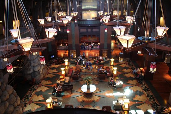Disney's Grand Californian Hotel & Spa: Grand Reception