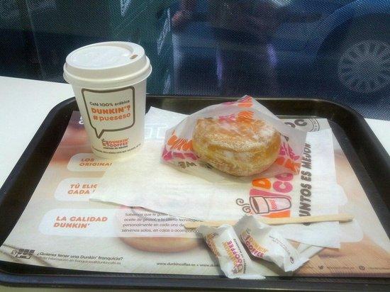 Dunkin Coffee: Dulce de leche