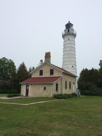 Door County Trolley: Cana lighthouse