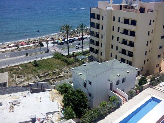 Aparthotel Sunny Beach: Vistas desde la terraza