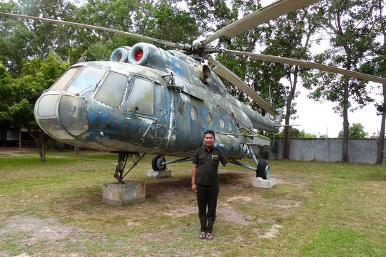 War Museum Cambodia: Thom by Sikorsky
