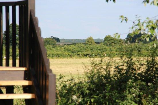 Le Domaine des Prés Verts Spa : Vue panoramique du Refuge des Prés Verts
