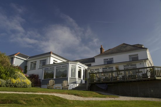 Driftwood Hotel: View from the garden