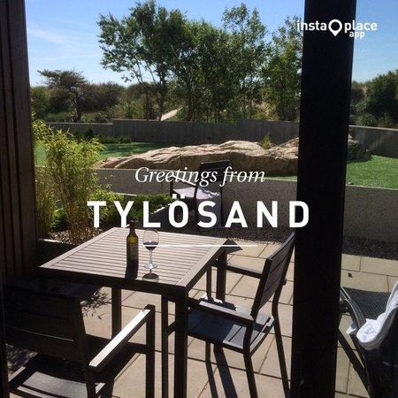 Hotel Tylosand: Utsikt från rummet