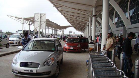Taj Exotica Goa: THE NEW GOA AIRPORT