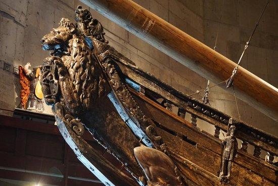 Vasa Museum: Vasa Lion