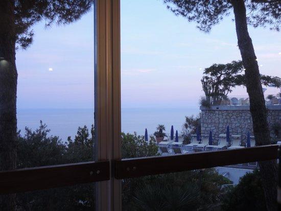 Hotel San Giorgio Terme: Vista sala da pranzo