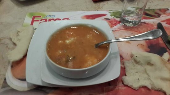 Fares Seafood - IL Mercato: Mix soup / Strongly recommended