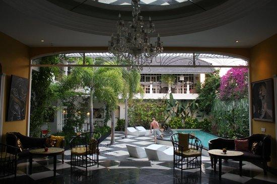 Casa Artista Bali: внутренний дворик