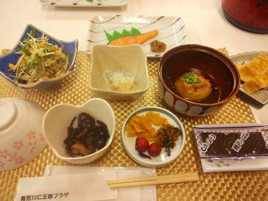 Kinugawa Onsen Plaza: 朝ご飯