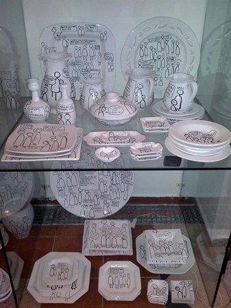 Hotel-Museum Atelier sul Mare : Il punto shop