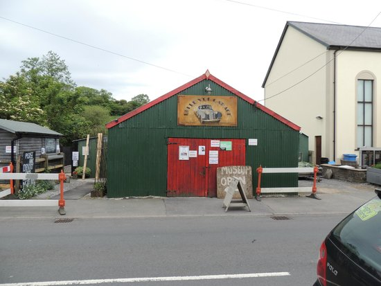 Tin Shed Experience: The Tin Shed from the Street