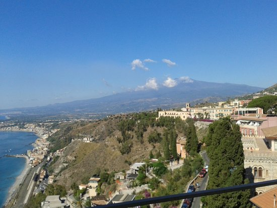Hotel Villa Paradiso: view from room