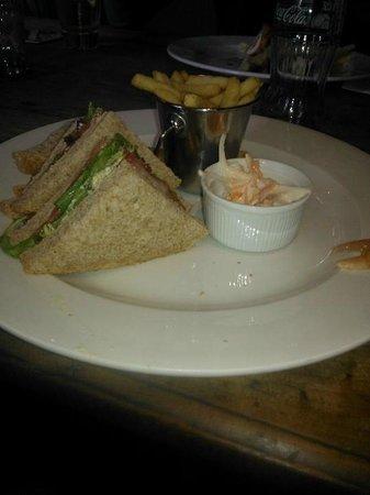 Loch Lomond Arms Hotel: Sad sandwich...