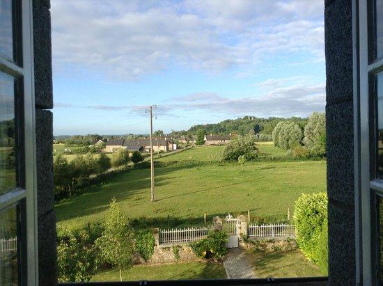 Manior de L'Ormelais : View from my room