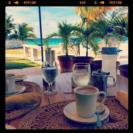 Anguilla Great House Beach Resort: Breakfast