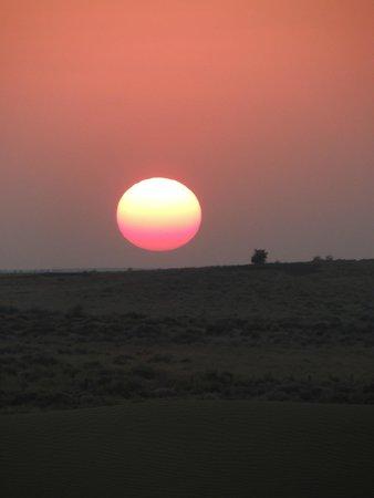 Damodra Desert Camp : Sunset at Sam Dunes