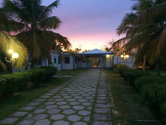 Anguilla Great House Beach Resort: Sunset / Reception