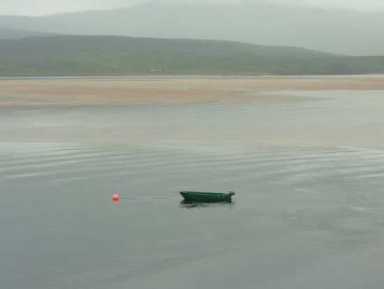 View from the Kyle of Durness Ferry, close to Aiden House.