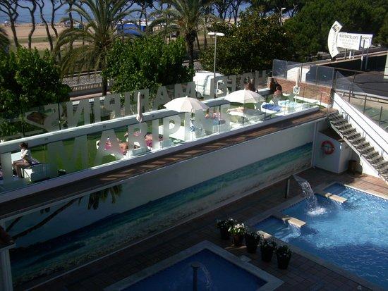 ALEGRIA Maripins: refurbished upper sun terrace