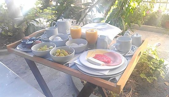 Aria Lito Mansion: Perfect Breakfast
