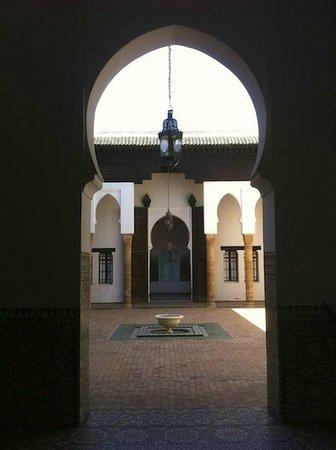 Oudaia Museum : Museo Nacional de la Joyeria, Kasbah de los Oudayas, accesos y patio