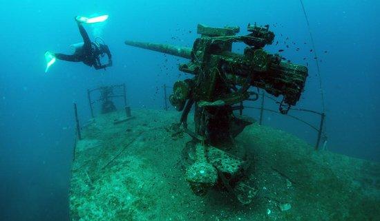 Goodtime Adventures, Koh Tao: Wreck dive