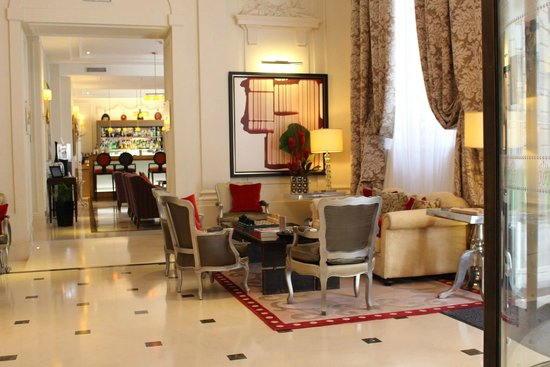Majestic Hotel Spa: Reception