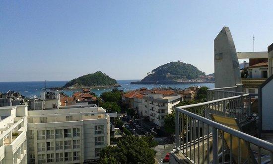 Hotel Codina: Vistas desde la terraza de la habitación