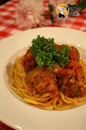 Grilled Spaghetti And Meatballs Recipes — Dishmaps